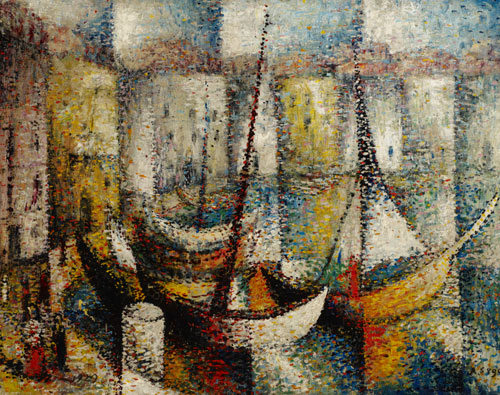 Arthur Segal Harbour, La Ciotat